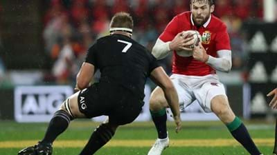 AUDIO: Elliot Daly after Lions win in Wellington