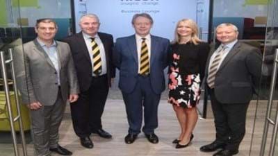 Ricoh Business Lounge Opens