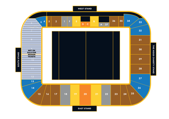 Wasps Season Membership Stadium Plan