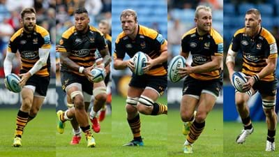 Five Wasps named in England Six Nations squad