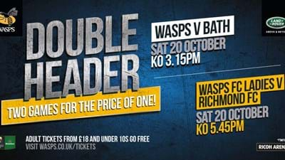 Watch Wasps Double Header at Ricoh Arena