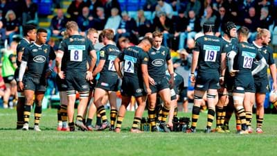 Premiership Rugby Shield match between Northampton Wanderers and Wasps A cancelled
