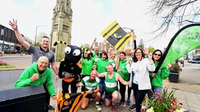 Wasps support Kenilworth half marathon