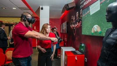 Vodafone Business Lounge opens at Ricoh Arena