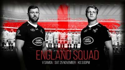 Launchbury and Daly start again for England