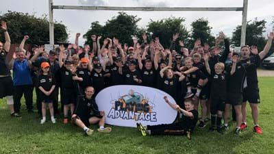 Wasps donate thousands to grassroots rugby in the West Midlands