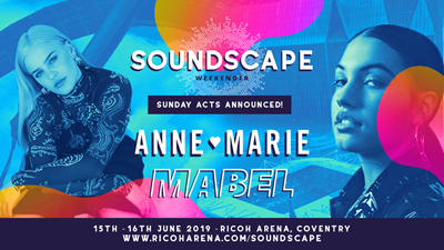 Anne-Marie and Mabel set to perform at Ricoh Arena