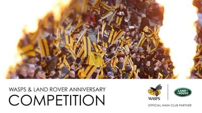 Wasps and Land Rover launch anniversary competition