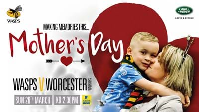 Spoil your mum at the Ricoh Arena on Mother's Day