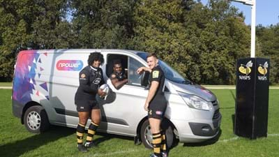 Wasps welcome npower as their Official Energy Partner