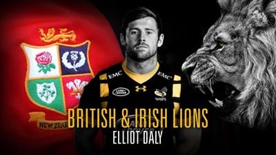 Elliot Daly named in Lions squad