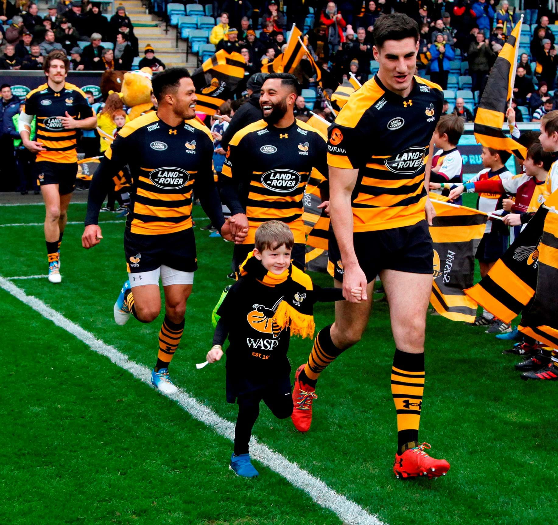 d7aa14d49e7 Mascot Competition - Wasps v Sale Sharks