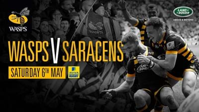 Wasps welcome Saracens to Ricoh Arena in final round