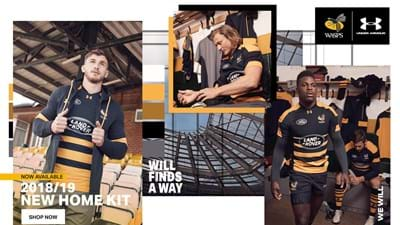 Wasps have unveiled their striking new 1st team kit for the 2018/2019 season