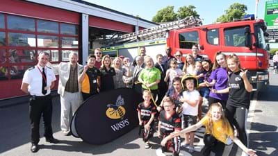 Wasps Interactive Zone a hit at Rugby Rotary Spring Fair