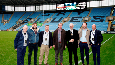Wasps commercial team launch affiliate partnership scheme with a deal confirmed with a multi-million pound civil engineering contractor