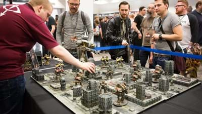 Warhammer fans to flock to Ricoh Arena