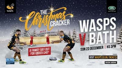 Our Christmas Cracker  match is now on sale!