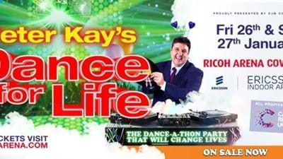 Peter Kay's Dance for Life Cancelled