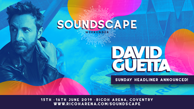Superstar DJ David Guetta coming to the Ricoh