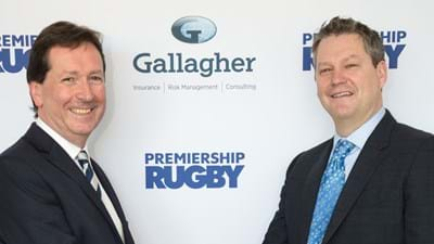 Premiership Rugby and Gallagher Announce Multi-Year Title Sponsor Partnership