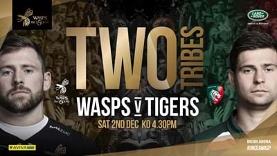 Entertainment at Wasps v Leicester Tigers