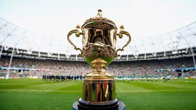 Webb Ellis Cup comes to the Ricoh Arena this Saturday