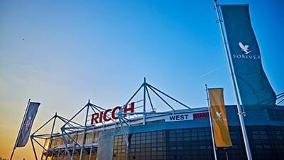 Ricoh Arena at International Confex 2019