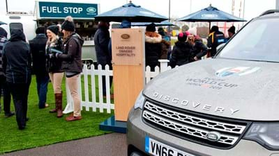 Discover Land Rover this weekend at the Ricoh Arena