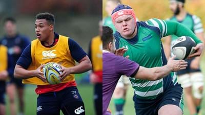 Wasps Academy sign Gabriel Oghre and George Thornton