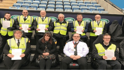 Stewards at Ricoh Arena