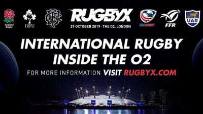 International indoor rugby at the O2 – 20% off RugbyX tickets