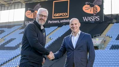 A big welcome to GEFCO, new Affiliate Partners of Wasps