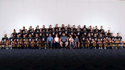Season Members take centre stage for Wasps' first-team photo