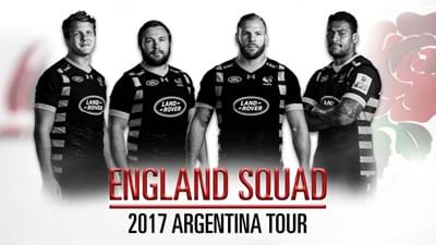 Launchbury, Hughes, Haskell and Mullan to tour Argentina