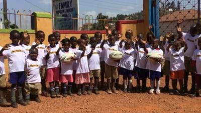 Wasps joins forces with Coventry secondary school to help Africa's next generation sporting stars