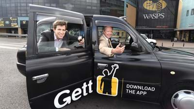 Wasps and Ricoh Arena welcome Gett as Official Taxi Partner