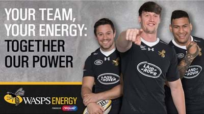 Wasps Energy powered by npower is now live!