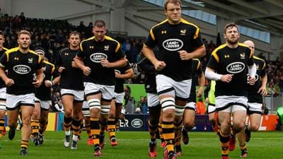 Wasps team to play Exeter Chiefs in the Aviva Premiership Final