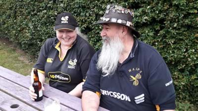 Meet some of our most loyal Wasps fans!