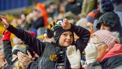 Wasps v Saints Fan Village kick-starts Coventry's year as European City of Sport!