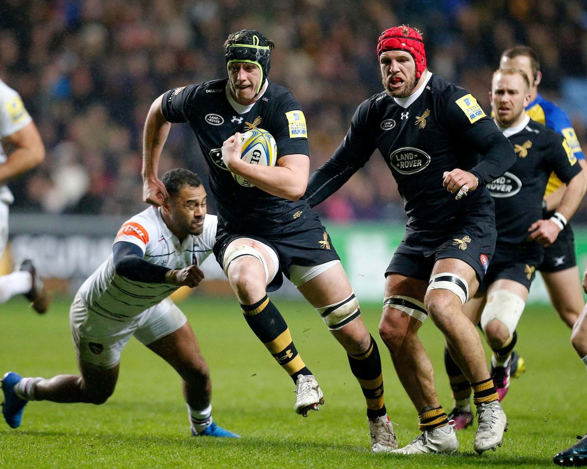 James Gaskell confident big Ricoh Arena occasion will inspire Wasps