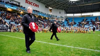 Wasps to mark Remembrance Sunday against Bristol Bears