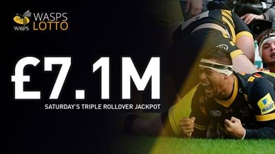 £7.1m to be won with a triple jackpot rollover