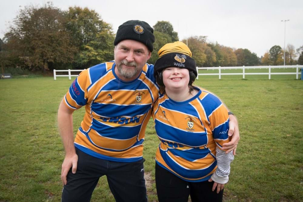 Two community teams locked heads in first ever competitive rugby match 2