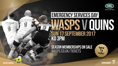 Wasps v Harlequins - 17 September