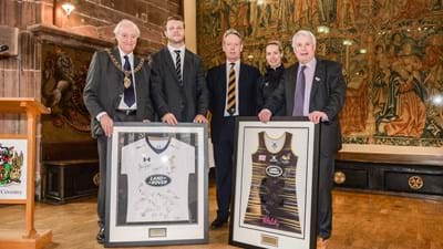 Wasps given Civic Reception for 150th Anniversary