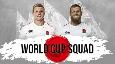Shields and Launchbury named in England Rugby World Cup squad