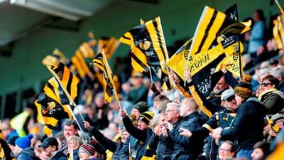 Fan highlights from Wasps v Saracens!