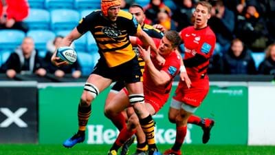 Wasps confirm departing players